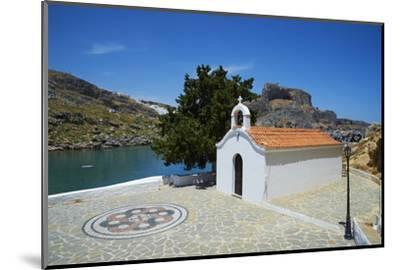 St. Paul Beach, Lindos, Rhodes, Dodecanese, Greek Islands, Greece, Europe-Tuul-Mounted Photographic Print