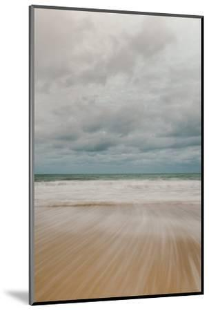 Tidal Motion on Carbis Bay Beach, St. Ives, Cornwall, England, United Kingdom, Europe-Mark Doherty-Mounted Photographic Print