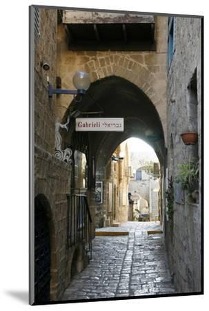 Alleys in the Old Jaffa, Tel Aviv, Israel, Middle East-Yadid Levy-Mounted Photographic Print