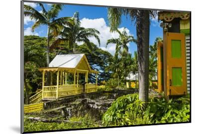 Romney Manor on St. Kitts-Michael Runkel-Mounted Photographic Print