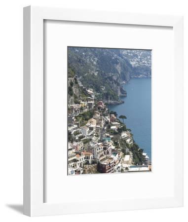 Positano, Amalfi Peninsula, UNESCO World Heritage Site, Campania, Italy, Mediterranean, Europe-Angelo Cavalli-Framed Photographic Print