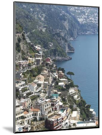 Positano, Amalfi Peninsula, UNESCO World Heritage Site, Campania, Italy, Mediterranean, Europe-Angelo Cavalli-Mounted Photographic Print