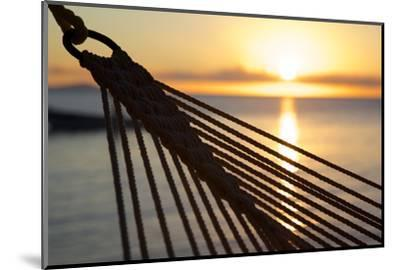 Hammock and Beach at Sunset-Frank Fell-Mounted Photographic Print