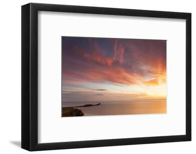 Rhossili Bay, Worms End, Gower Peninsula, Wales, United Kingdom, Europe-Billy Stock-Framed Photographic Print