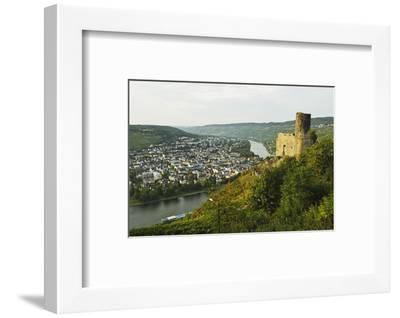 View of Landshut Castle Ruins-Jochen Schlenker-Framed Photographic Print