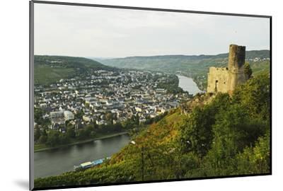 View of Landshut Castle Ruins-Jochen Schlenker-Mounted Photographic Print