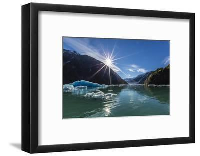 Calved Glacier Ice in Tracy Arm-Ford's Terror Wilderness Area-Michael Nolan-Framed Photographic Print