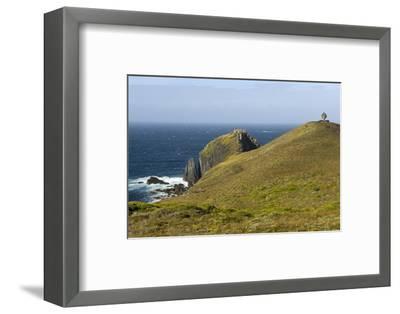 The Albatross Monument at Cape Horn, Isla De Cabo De Hornos, Tierra Del Fuego, Chile, South America-Tony Waltham-Framed Photographic Print