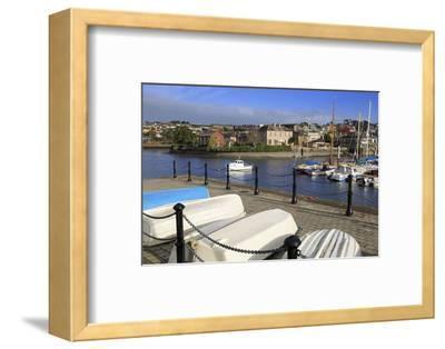 Yacht Marina, Kinsale Town, County Cork, Munster, Republic of Ireland, Europe- Richard-Framed Photographic Print