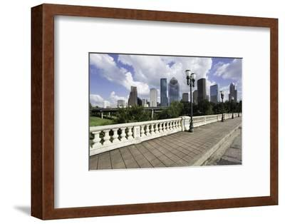 City Skyline, Houston, Texas, United States of America, North America-Gavin-Framed Photographic Print