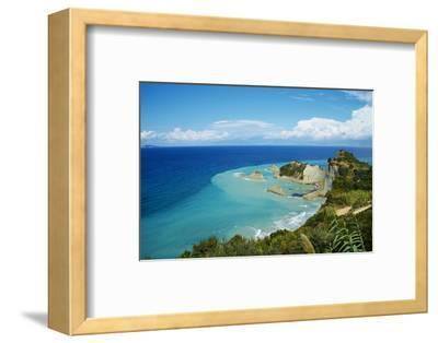 Drastis Cape Near Sidari Village. Corfu, Ionian Islands, Greek Islands, Greece, Europe-Tuul-Framed Photographic Print