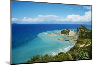 Drastis Cape Near Sidari Village. Corfu, Ionian Islands, Greek Islands, Greece, Europe-Tuul-Mounted Photographic Print