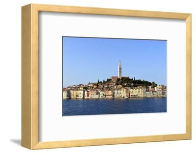 Church of St. Euphemia and Old Town from the Sea on a Summer's Early Morning-Eleanor Scriven-Framed Photographic Print