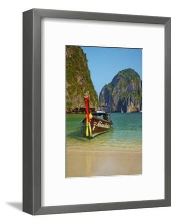 Ao Maya Bay, Ko Phi Phi Le Island, Krabi Province, Thailand, Southeast Asia, Asia--Framed Photographic Print