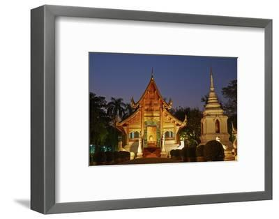 Wat Phra Singh, Chiang Mai, Thailand, Southeast Asia, Asia--Framed Photographic Print