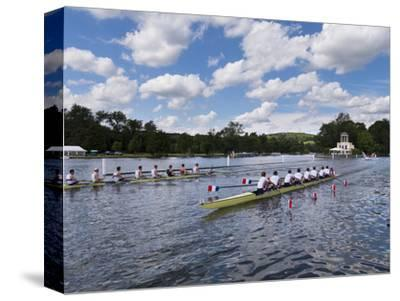 Henley Regatta, Henley-On-Thames, Oxfordshire, England, United Kingdom-Charles Bowman-Stretched Canvas Print