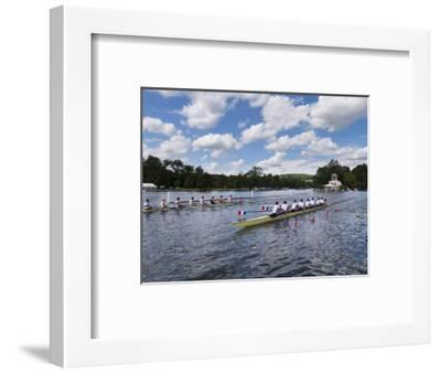 Henley Regatta, Henley-On-Thames, Oxfordshire, England, United Kingdom-Charles Bowman-Framed Photographic Print