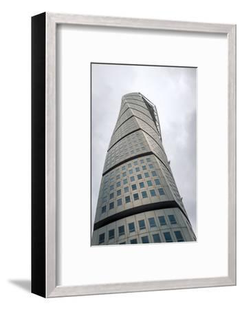 The Turning Torso, Malmo, Sweden, Scandinavia, Europe-Charlie Harding-Framed Photographic Print