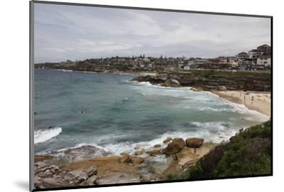 Coastal Path from Bondi Beach to Bronte and Congee, Sydney, New South Wales, Australia, Pacific-Julio Etchart-Mounted Photographic Print