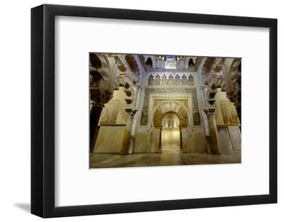 The Mezquita of Cordoba, Andalucia, Spain-Carlo Morucchio-Framed Photographic Print
