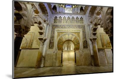 The Mezquita of Cordoba, Andalucia, Spain-Carlo Morucchio-Mounted Photographic Print