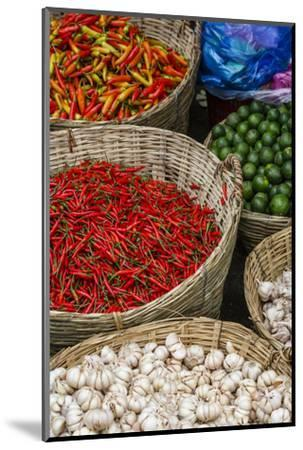 Can Tho Market, Mekong Delta, Vietnam, Indochina, Southeast Asia, Asia-Yadid Levy-Mounted Photographic Print