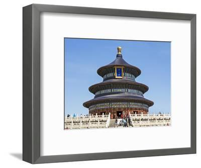 Hall of Prayer for Good Harvests, Temple of Heaven (Tian Tan), Beijing, China-Gavin Hellier-Framed Photographic Print