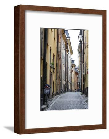 Street Scene in Gamla Stan, Stockholm, Sweden, Scandinavia, Europe-Yadid Levy-Framed Photographic Print