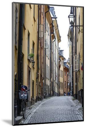 Street Scene in Gamla Stan, Stockholm, Sweden, Scandinavia, Europe-Yadid Levy-Mounted Photographic Print