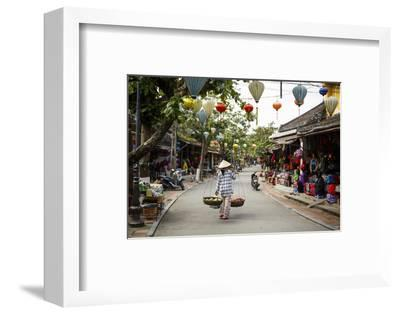 Street Scene, Hoi An, Vietnam, Indochina, Southeast Asia, Asia-Yadid Levy-Framed Photographic Print
