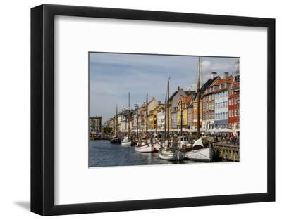 Nyhavn, Copenhagen, Denmark, Scandinavia, Europe-Yadid Levy-Framed Photographic Print