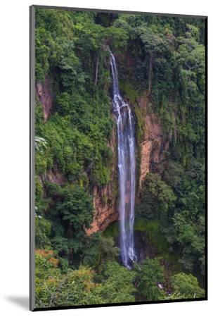 Manchewe Falls Near Livingstonia, Malawi, Africa-Michael Runkel-Mounted Photographic Print