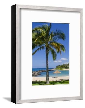 Ko Olina Beach, West Coast, Oahu, Hawaii, United States of America, Pacific-Michael DeFreitas-Framed Photographic Print