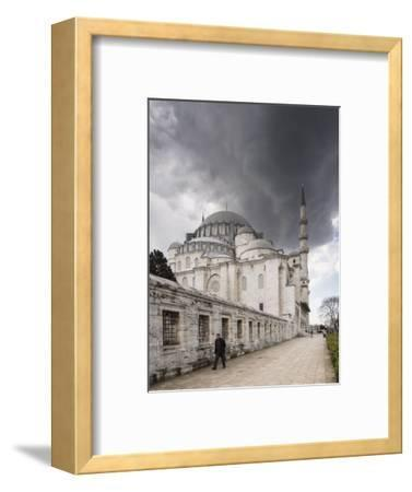 Exterior of Suleymaniye Mosque, Istanbul, Turkey-Ben Pipe-Framed Photographic Print