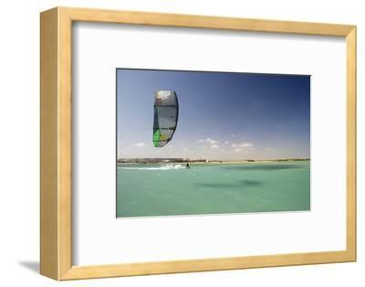 Kite Surfing on Red Sea Coast of Egypt, North Africa, Africa-Louise-Framed Photographic Print