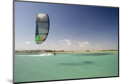 Kite Surfing on Red Sea Coast of Egypt, North Africa, Africa-Louise-Mounted Photographic Print