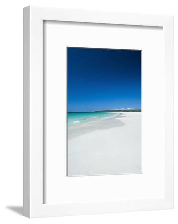 White Sand Beach and Turquoise Waters-Michael-Framed Photographic Print