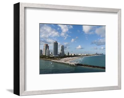 South Beach, Miami Beach, Florida, United States of America, North America-Sergio Pitamitz-Framed Photographic Print