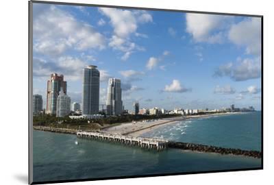 South Beach, Miami Beach, Florida, United States of America, North America-Sergio Pitamitz-Mounted Photographic Print