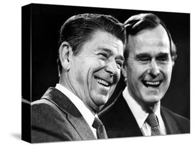 U.S. President-Elect Ronald Reagan--Stretched Canvas Print