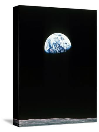 Apollo 11--Stretched Canvas Print