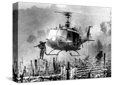 Nightmare Landing Zone-Associated Press-Stretched Canvas Print