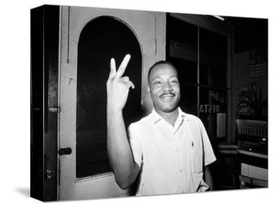 MLK St Augustine Boycott 1964--Stretched Canvas Print