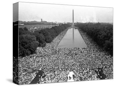 March on Washington--Stretched Canvas Print