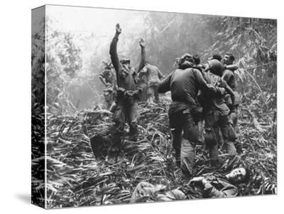 Vietnam War-Art Greenspon-Stretched Canvas Print