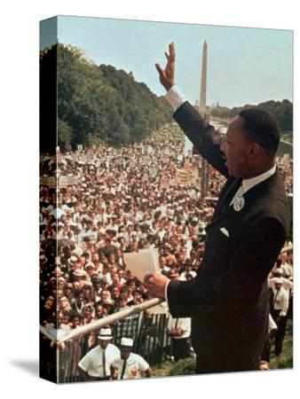 Martin Luther King Jr.-Associated Press-Stretched Canvas Print