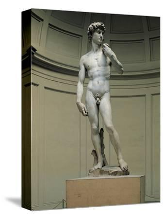 David-Michelangelo Buonarroti-Stretched Canvas Print