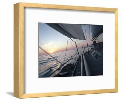Sailboat-Steve Essig-Framed Photographic Print