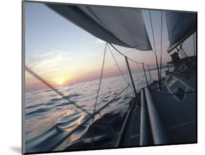 Sailboat-Steve Essig-Mounted Photographic Print