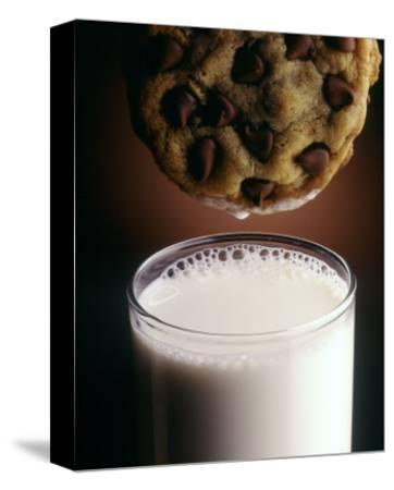 Chocolate Chip Cookie and Milk-John T^ Wong-Stretched Canvas Print